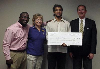 2012 LewerMark Scholar - Sajjan K. C.