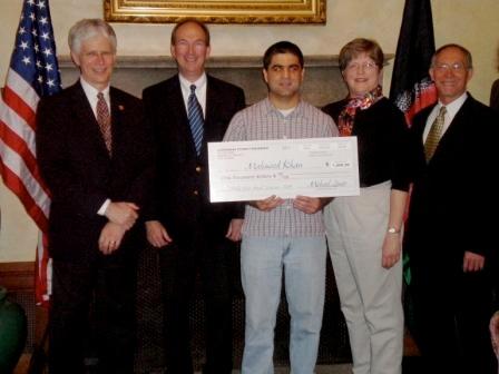 LewerMark Scholar 2009 - Mahmood Khan